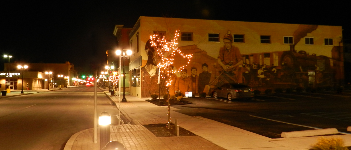 Pittston_at_night_2
